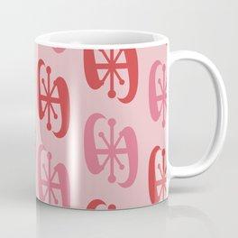 Starburst Bell Peppers Red Coffee Mug