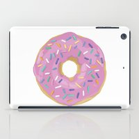 donut iPad Cases featuring Donut by Sian Murray Art
