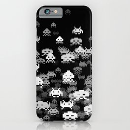 Invaded BLACK iPhone Case