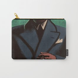 Man In The Dark Carry-All Pouch