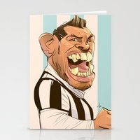 juventus Stationery Cards featuring Carlos Tévez by nachodraws