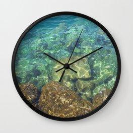 Greek Sea Water Wall Clock