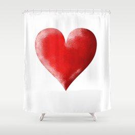 I Heart Shower Curtain