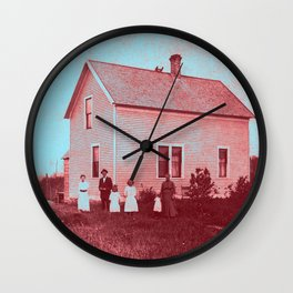 Early Settlers Wall Clock