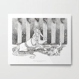Madame Centaur Metal Print
