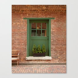 On Your Doorstep Canvas Print