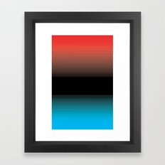 Warm and Cool Framed Art Print