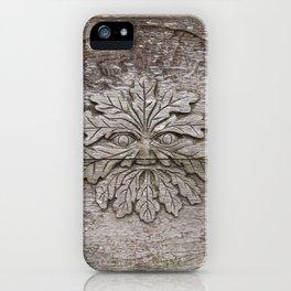 Greenman iPhone Case