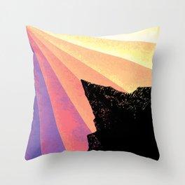 Ray of Sun Throw Pillow