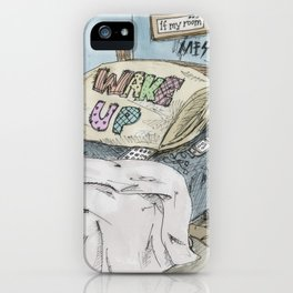 messy iPhone Case