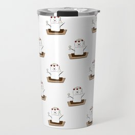 S'mores Bride Pattern Travel Mug