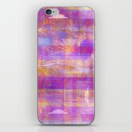 Marbled Patchwork iPhone Skin