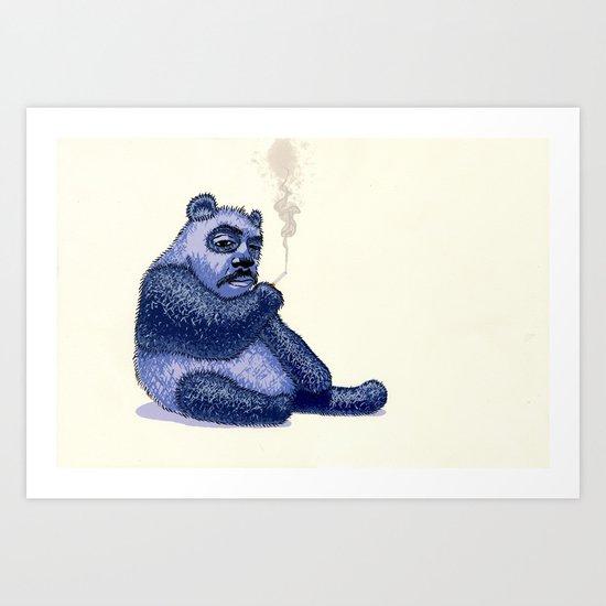 Bad dream Art Print