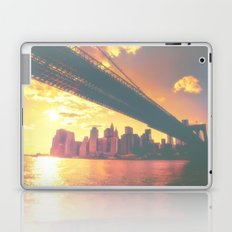 The New York City Skyline at Sunset Laptop & iPad Skin
