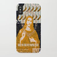 jesus iPhone & iPod Cases featuring Jesus by Alec Goss
