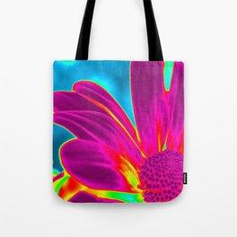 Flower | Flowers | Neon Daisy Tote Bag