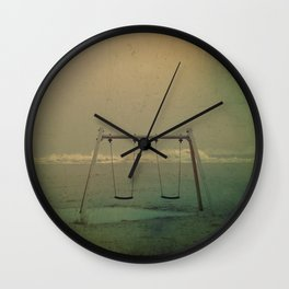 Forgotten swings Wall Clock