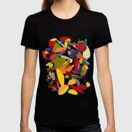 Colorful pebbles T-shirt