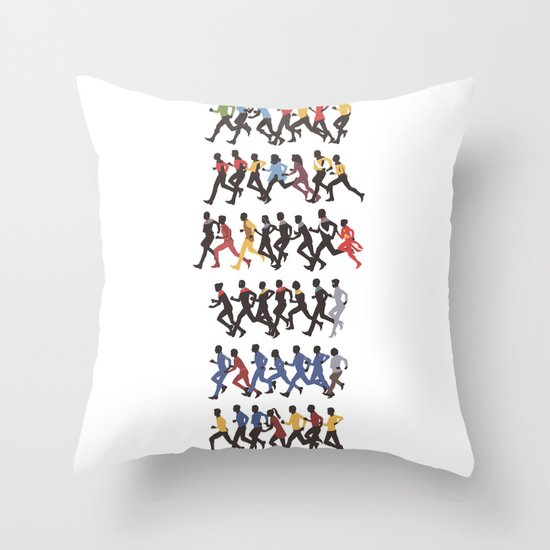 Away Mission Throw Pillow