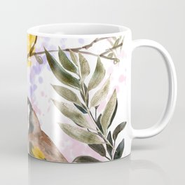 Floral birds compositions with roses Coffee Mug