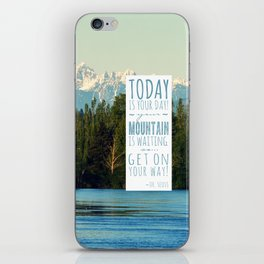 Get On Your Way! iPhone Skin