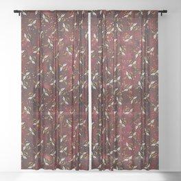 Wizard - Winged Keys Sheer Curtain