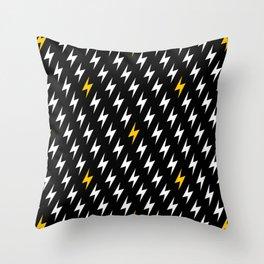 Bolts of lightning Throw Pillow