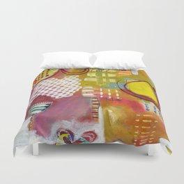 Jellyfish Garden Duvet Cover