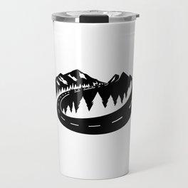 Cascade Camper Stealth Logo Travel Mug