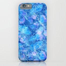 Frozen Leaves 29 iPhone Case