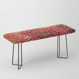 Doodle 16 Red Bench