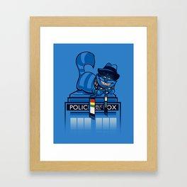 The Cheshire Doctor Framed Art Print