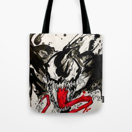 Venom - Splattered Symbiote Tote Bag