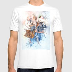 The Photographer X-LARGE White Mens Fitted Tee