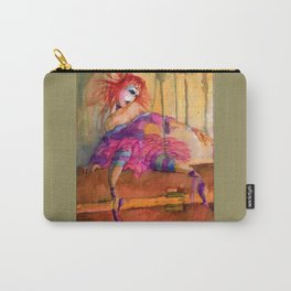 Retro Puppet Doll  Carry-All Pouch