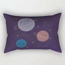 Kawaii Outer Space Rectangular Pillow