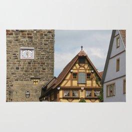 Rothenburg ob der Tauber Impression Rug