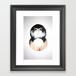 Numbirds Framed Art Print
