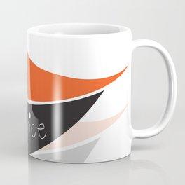 Modern Abstract Digital Artwork Be Nice Coffee Mug