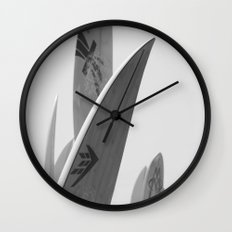 Surf Boards #2 Wall Clock
