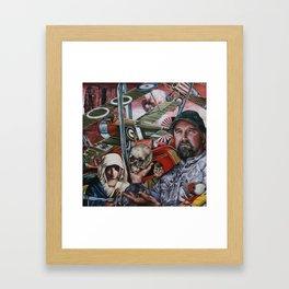 Via the Needle Framed Art Print