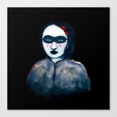 Carnival Lady Canvas Print