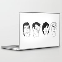 the smiths Laptop & iPad Skins featuring The Smiths by Darren Draws