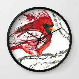 Cardinal Direction Wall Clock