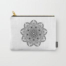 Mandala handmade Drawing, Decoration, Mandala Art, Zen Art Carry-All Pouch