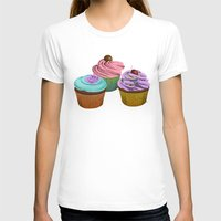 cupcakes T-shirts featuring Cupcakes!  by Megs stuff
