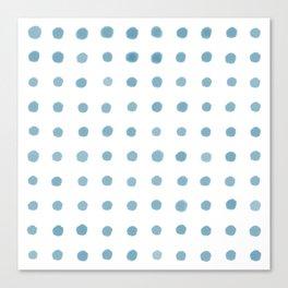 Blue Water Cooler Canvas Print