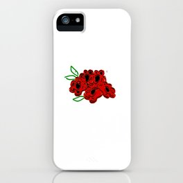 Mowing the Lawn Just a GIrl Who Loves Riding Mowers iPhone Case