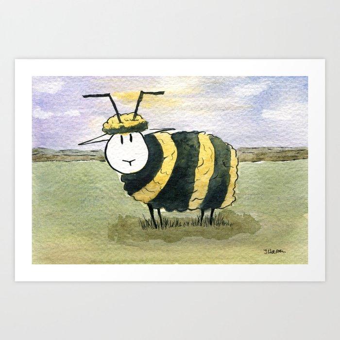 Beep Art Print