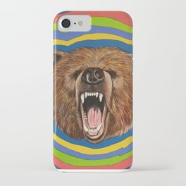 Retro Bear iPhone Case
